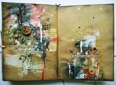 Her work is mesmerizing and so beautiful!  u ankan by czekoczyna, via Flickr