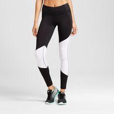 Women's Freedom Asymmetrical Leggings - Black/White/Cire XS - C9 Champion