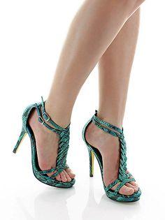 Sancia Snakeskin Sandal