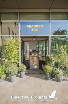 Bluecrow Projects completed the second restaurant fit out for Granger & Co at Kings Cross, London. #Restaurants #Interiors