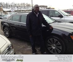 #HappyBirthday to Bill Lewis from George Szabo at Monroeville Chrysler Jeep!