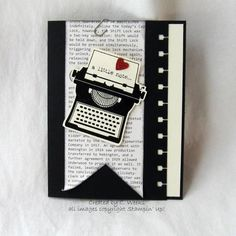 A little note.... by Weekend Warrior - Cards and Paper Crafts at Splitcoaststampers