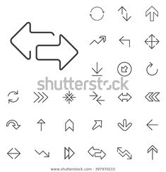 Find Linear Arrow Icons Set Universal Arrow stock images in HD and millions of other royalty-free stock photos, illustrations and vectors in the Shutterstock collection. Arrow Line, Event Flyer Templates, Ui Elements, Line Icon, Vector Icons, Icon Set, Signage, Royalty Free Stock Photos, Mobile Ui