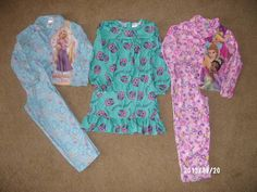 Lot of Girls sz M 7-8 Disney Princess