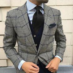 """gentlemanstylestream: """"Credit @iliass_agh • #gentlemanstylestream """""""