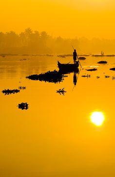 Photography - Sunset / Kerala, India.