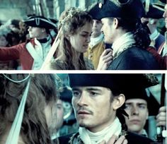 Pirates of the Caribbean Elizabeth Swann and Will Turner