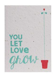 Send & Grow card - A4