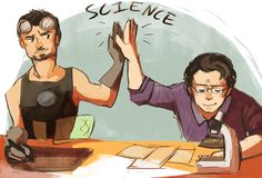 -Science bros are doing science