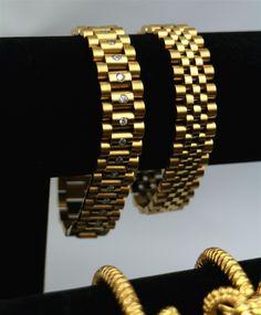 Image of EP Diamond Rolex Chain bracelet (Daydate style)