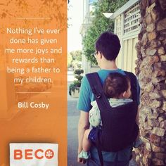 Out and about in a Beco Baby Carrier back carry