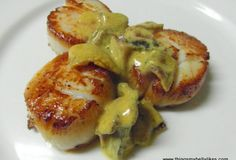 Fast Paleo » Seared Scallops with Bacon & Mustard Sauce - Paleo Recipe Sharing Site