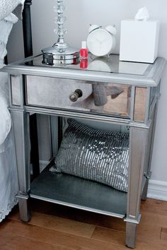 Mirrored Bedside Table. Mirror FurniturePier 1 ImportsBedside ...