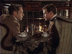 Ливанов - Наш друг Шерлок Холмс: Холмс  и  Ватсон  (В.Ливанов  В. Соломин)