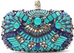 Pucci Beaded Box Clutch - gorgeous