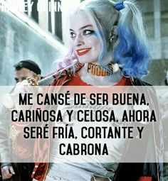 Harley quinn sad quotes: pin by eve 💋 on pura neta. Sad Quotes, Love Quotes, Arley Queen, Tableau Pop Art, Joker And Harley, Sad Love, Spanish Quotes, Friends Forever, Saturday Night Live