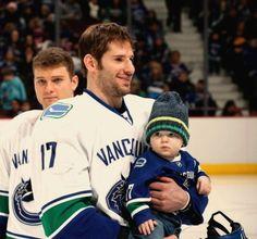 "maseyevanraymond: "" Ryan and his little rockstar "" Beauty Box, Hockey, Baseball Cards, Sports, Hs Sports, Sport, Field Hockey, Ice Hockey"