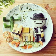 Wonderful Stories Told With Beautiful Food Art - Randommization