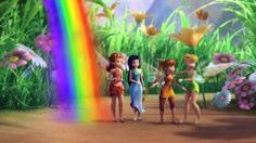 Pixie Hollow Preview - Rainbow's End, via YouTube.
