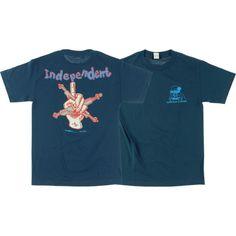 Santa Cruz Skateboards 30th Anniversary Slasher Blue t-shirt - new at Warehouse Skateboards! #WHSkate