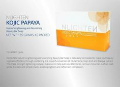 Kojic w Glutathione, 2 in 1 soap!