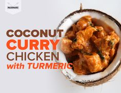 Coconut Curry Chicken with Turmeric