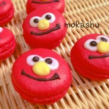 Elmo macaroon