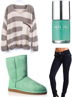 Shop for top fashion Uggs with wholesale prices! I love these Ugg boots. Cute Fall Outfits, Outfits For Teens, Winter Outfits, Casual Outfits, Summer Outfits, Winter Clothes, Green Outfits, Lazy Outfits, Spring Clothes