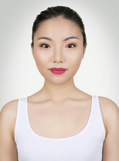 I just used the awesome virtual makeover tool to create this look. What do you think? Products used: NYX Loose Pearl Eye Shadow True Purple Pearl NYX Matte Lipstick Perfect Red Makeup Brands, Makeup Tips, Virtual Makeover, Asian Eyes, Sally Beauty, Create Photo, Light Orange, Light Purple, Beauty Industry