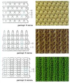 middle crochet-stitches