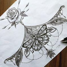 Cool Chest Tattoos, Chest Tattoos For Women, Chest Piece Tattoos, Pieces Tattoo, Tattoos For Women Small, Body Art Tattoos, Maori Tattoos, Henna Tattoos, Celtic Tattoos