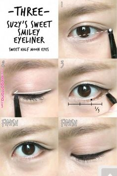 Eyeshadows And Cut Crease. No matter whether you actually fancy glitter, matte, nearly nude, hot, smoky eyes or simply slight shimmer you… Korean Eyeliner, Cat Eye Eyeliner, Silver Eyeliner, Purple Eyeliner, Natural Eyeliner, Korean Eye Makeup, Best Eyeliner, No Eyeliner Makeup, Black Eyeliner