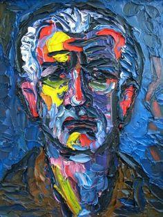 Self-portrait - Endre Bartos
