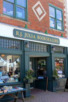 R.J. Julia Booksellers - Madison, Connecticut (25/1)...can grab a book to read at one of the many Madison beaches!