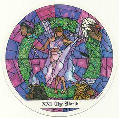 The World – Tarot of the Cloisters by Michelle Leavitt   Tarot ...