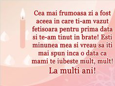 URARI LA MULTI ANI Happy Birthday Images, Happy Birthday Wishes, Phonetic Alphabet, Mommy Quotes, Kids And Parenting, First Birthdays, Inspirational Quotes, Google Images, Words