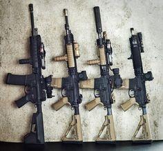 Beautiful airsoft rifles