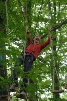 Climbing fun at Tree Surfers