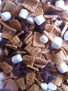 S'mores Snack Mix - i used to love this!