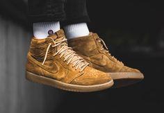 Now Available: Air Jordan 1 High Wheat