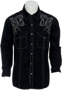 Rock & Roll Cowboy Men's L/S Western Snap Shirt B2S9188