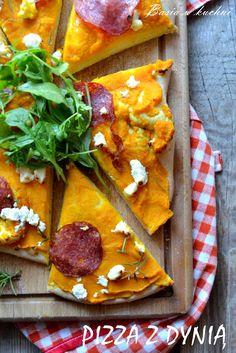 Basia w kuchni: Domowa pizza z pieczoną dynią, rozmarynem, fetą or...