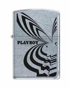 Zippo Limited Playboy Bunny Zippo Lighter by Zippo. $17.69. Limited edition Playboy Zippo Lighter.  Street Chrome finish with a Playboy logo and Bunny design in black.. Save 12% Off!