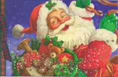 Here Come's Santa Claus...