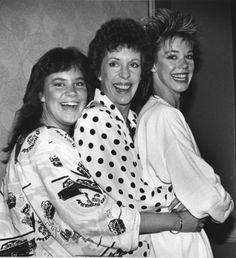 Carol Burnett and daughters