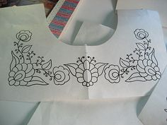 Designing Embroidery For Mexican Peasant Blouse | Nicely Done