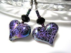 Heart Earrings Valentine Jewellery with by ChristmasisMagical