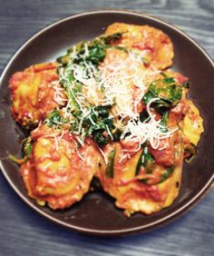 spinach and cheese ravioli my weakness