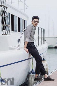 Park Seo Joon for BNT International October 2014 Korean Men, Asian Men, Korean Actors, Asian Guys, Korean Actresses, Asian Actors, Park Seo Joon, Park Shin Hye, Chinese Clothing