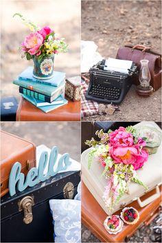 Le Magnifique Blog: Wedding & Travel Inspiration : Vintage Inspired Engagement Session by Candice Benjamin Photography